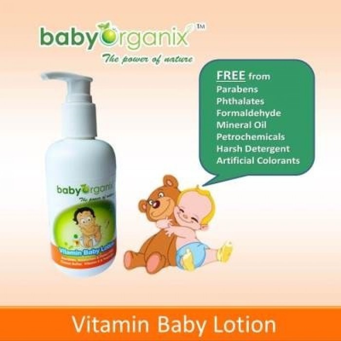 Image result for BabyOrganix Vitamin Baby Lotion