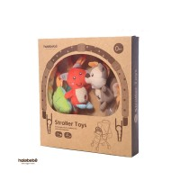 Holabebe - Stroller Toys Fox and Squirrel