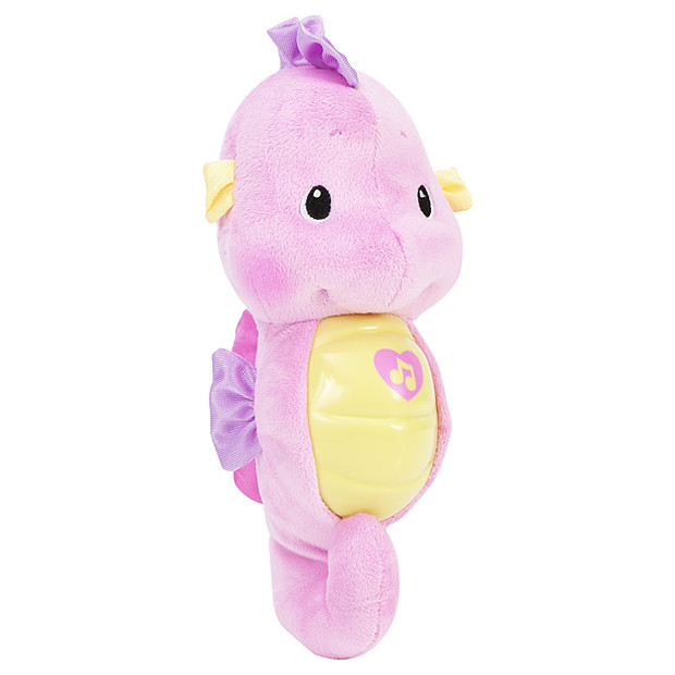 Fisher Price Preschool Soother And Grow Seahorse Pink