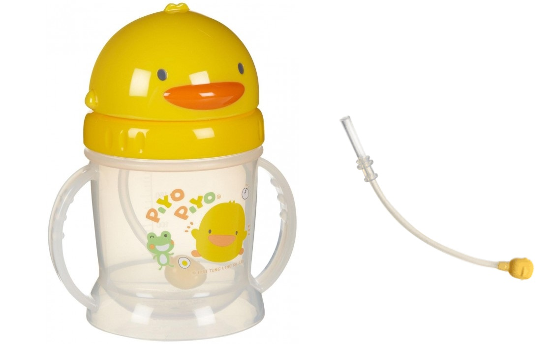 Cup Feeding Tommee Tippee Insulated Sippee 12m Yellow Bee Piyo Easy Reach Water Bottle Replacement Straw 250ml