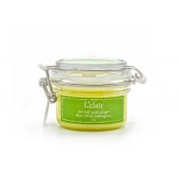 L'Clair Sea Salt With Ginger Root Oil Lemongrass 150g