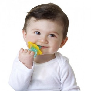 Nuby Soothing Teether Chewbies (Yellow Ribbon)
