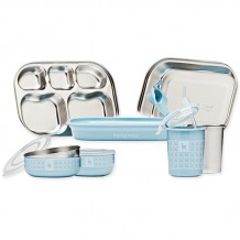 ​Kangovou Kids Dishware Set Frosted Blueberry