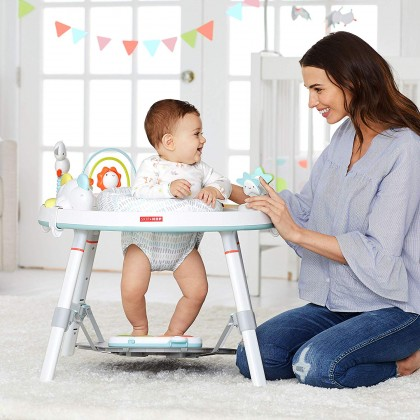 Skip Hop Explora & More Baby's View 3-Stage Activity Center Silver Lining [NEW]