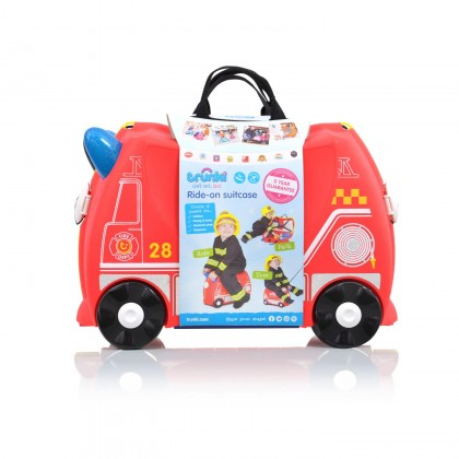 Trunki Suitcase Fire Engine Frank