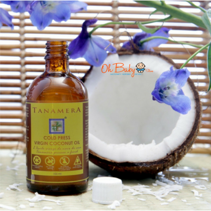 Tanamera Cold Press Virgin Coconut Oil 100ml