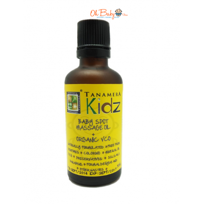 Tanamera Kids Baby Spot Massage Oil  + Organic VCO 50ml