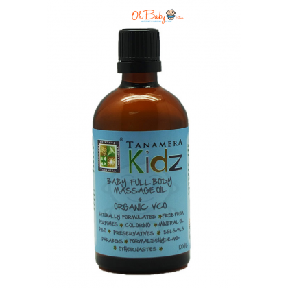 Tanamera Kids Baby Full Body Massage Oil  + Organic VCO 100ml