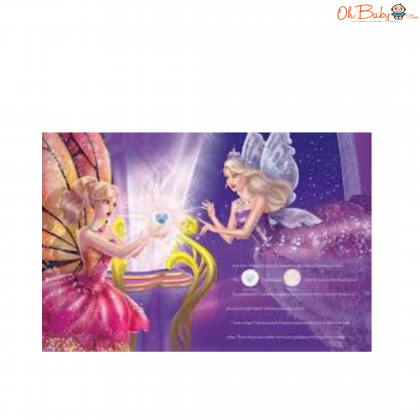 Barbie Mariposa And The Fairy Princess: A Sticker Storybook True Fairy Friends
