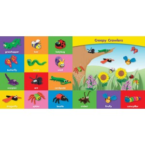 Play-Doh Deluxe Board Book: My First 100 Words (Animals)