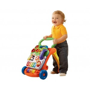 Vtech Sit To Stand Learning Walker With Adjustable Speed