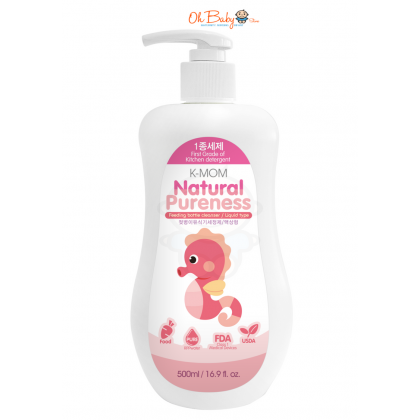 K Mom Baby Bottle Cleanser Liquid Type 500ml