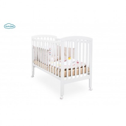 Comfy  Baby Cot White (120x60cm)