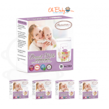 Autumnz - Double ZipLock Breastmilk Storage Bag (25 bags) *5oz x 5*