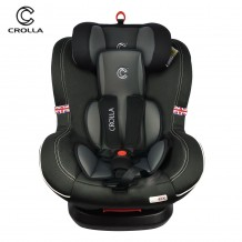 Crolla S+ 360 ISOFIX Car Seat (0-7 Years) FREE Car Seat Protector