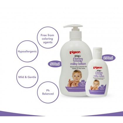 Pigeon Baby Milk Lotion 500ml