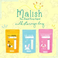 Malish Breast Milk Bag (25Bags) 3.4oz/100ml Special Edition