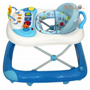 Sweet Heart Paris Baby Walker BW1001 with Crystal Wheel