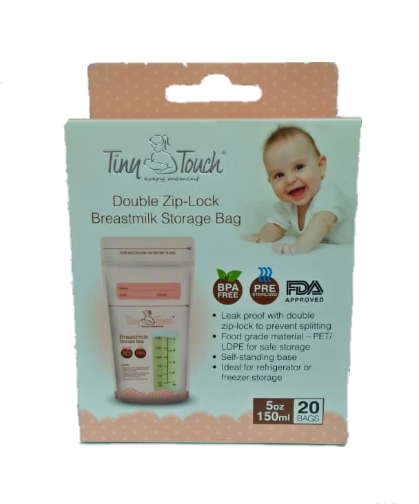 Tiny Touch Breast Milk Storage Bag 5oz 150ml
