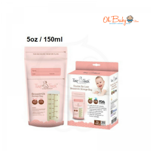 Tiny Touch Breast Milk Storage Bag (5oz/150ml)