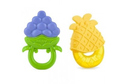 Nuby Fruity Chews Teether Combo Pack