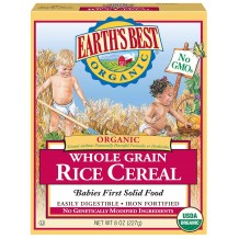 Earths Best Organi Whole Grain Rice Cereal 227g