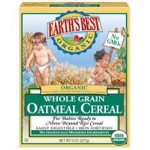 Earths Best Organic Whole Grain Oatmeal 227g