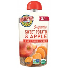 Earths Best Organic Sweet Potato & Apple (Baby Food Puree)