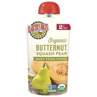 Earth Best Organic Butternut Squash Pear (Baby Food Puree)