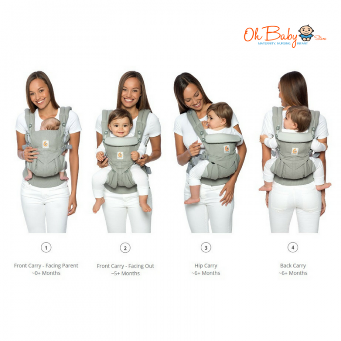 4d1a25f8309 ... Ergobaby Omni 360 All-in-one (Cool Air Mesh) Baby Carrier ...