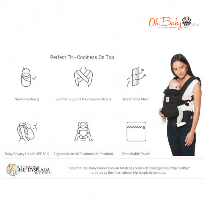 1c4acd196c0 ... Ergobaby Omni 360 All-in-one (Cool Air Mesh) Baby Carrier
