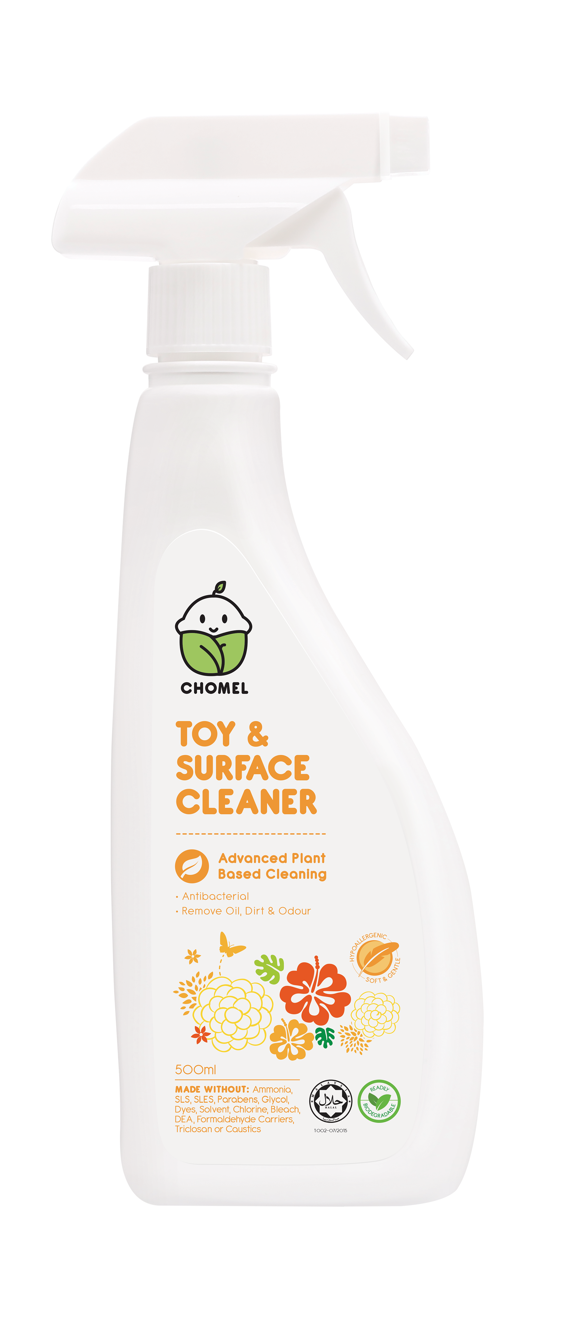 Chomel Baby Toy Amp Surface Cleaner 500ml