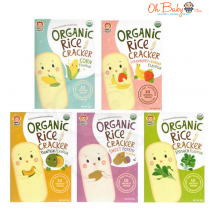 Apple Monkey Organic Rice Craker (10 Sachets Inside)