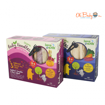 Love Earth Organic Baby Noodles 180g for 7month+