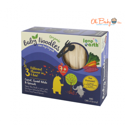 Love Earth Organic Baby Noodles 180g