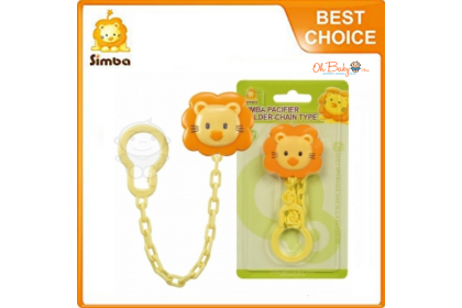 Simba Pacifier Holder Chain Type