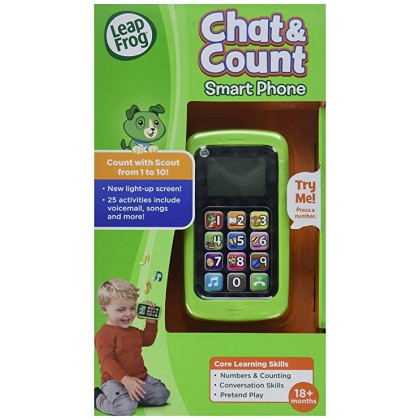 LeapFrog Chat & Count Smart Phone Toy (18months+)