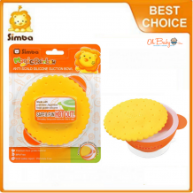 Simba Anti Scald Silicone Suction Bowl