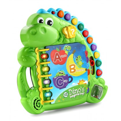 "LeapFrog Dino's Delightful Day Bookâ""¢ Toy (12months+)"