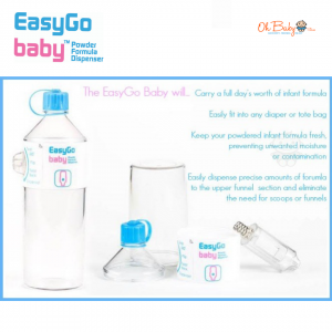 Easy Go Baby Milk Powder Formula Dispenser