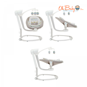 Joie Serina Swivel Baby Swing FREE 2 x K-Mom Premium Wet Wipes 80's