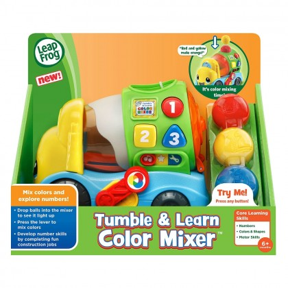LeapFrog Tumble & Learn Color Mixer Toy(6months+)