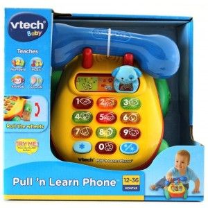 Vtech Pull and Learn Phone