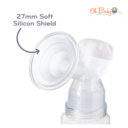 Nuby Natural Touch Single Electric Breast Pump Package