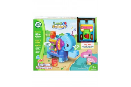 Leap Frog Builders Elephant Adventures
