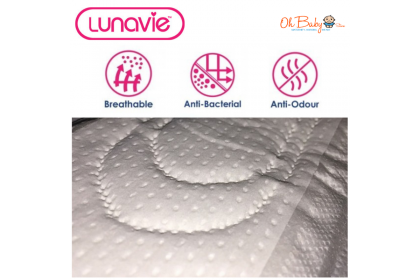 Lunavie Premium Maternity/Overnight Pads 20s