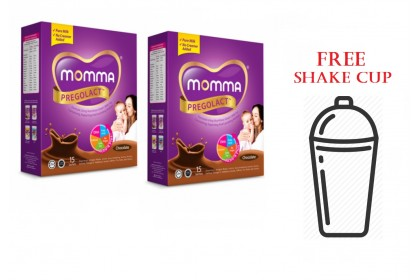 Momma Pregolact Value Pack (Free Shake Cup)