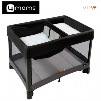 4moms Breeze Plus 4.0 Playard/Playpen - Black