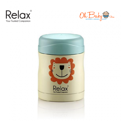 Relax 18.8 Stainless Steel Thermal Food Jar (300ml)