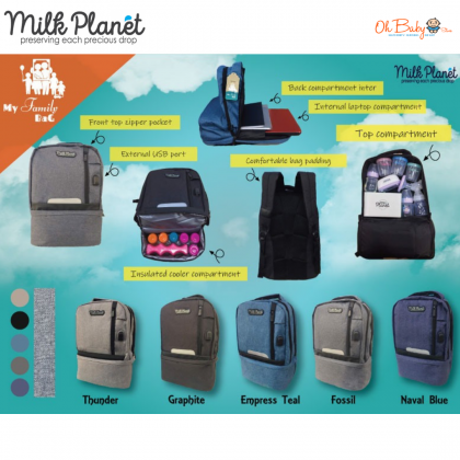 Milk Planet My Family Bag